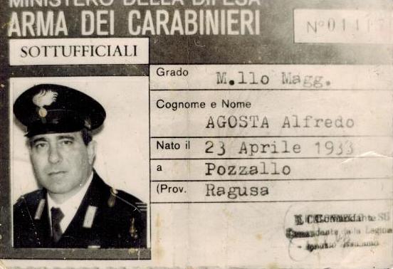 Foto nell'Arma dei Carabinieri di Alfredo Agosta
